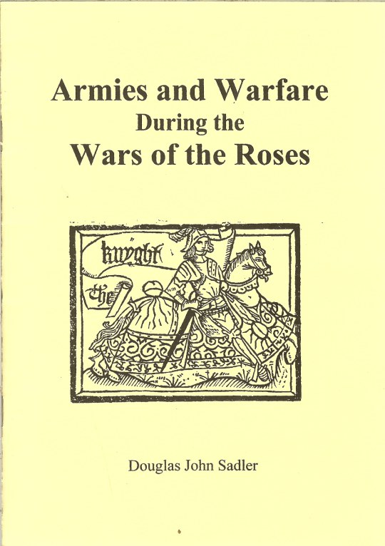 Image for ARMIES AND WARFARE DURING THE WARS OF THE ROSES