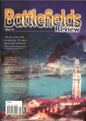 Image for BATTLEFIELDS REVIEW ISSUE NO.16