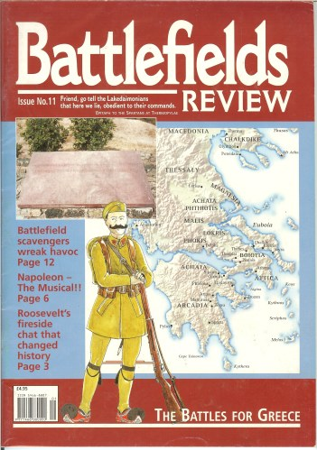 Image for BATTLEFIELDS REVIEW ISSUE NO.11