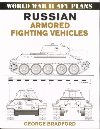 Image for WORLD WAR II AFV PLANS: RUSSIAN ARMORED FIGHTING VEHICLES