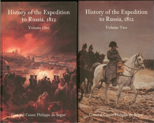 Image for HISTORY OF THE EXPEDITION TO RUSSIA, 1812 (TWO VOLUME SET)