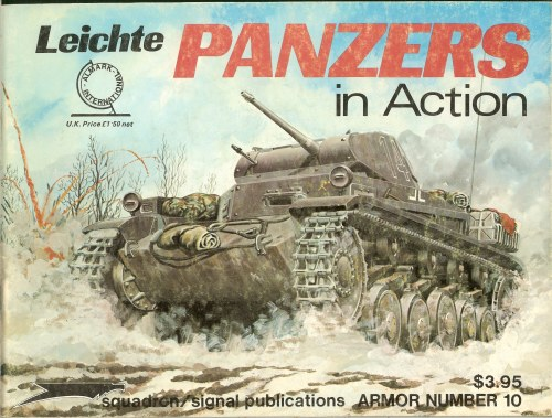 Image for LEICHTE PANZERS IN ACTION
