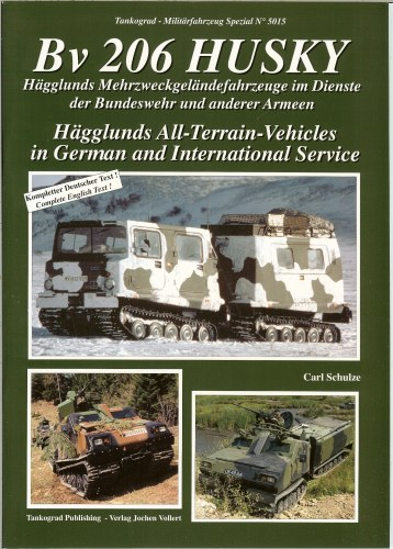 Image for BV 206 HUSKY: HAGGLUNDS ALL-TERRAIN-VEHICLES IN GERMAN AND INTERNATIONAL SERVICE