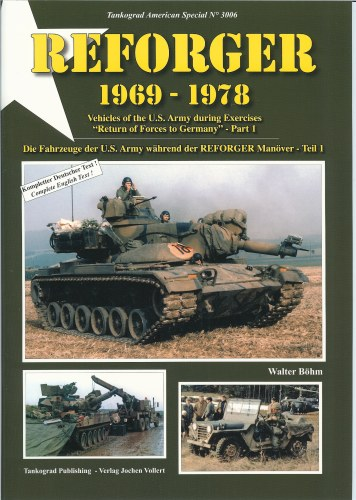 Image for REFORGER 1969-1978: VEHICLES OF THE US ARMY DURING EXERCISES 'RETURN OF FORCES TO GERMANY' - PART 1
