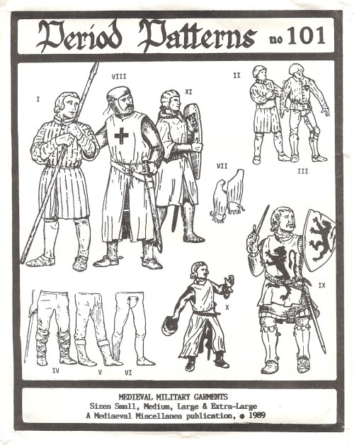 Image for PERIOD PATTERNS 101: MEDIEVAL MILITARY GARMENTS