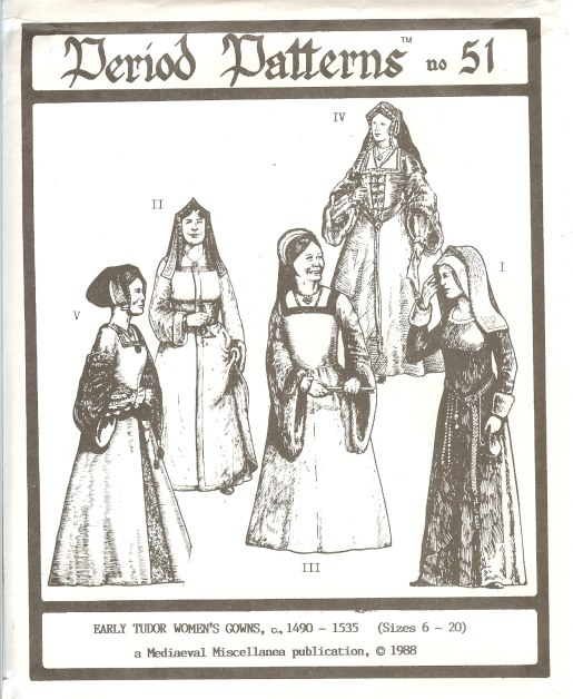 Image for PERIOD PATTERNS 51: EARLY TUDOR WOMAN'S GOWNS C. 1490-1535