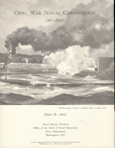 Image for CIVIL WAR NAVAL CHRONOLOGY 1861-1865 (PART II - 1862)