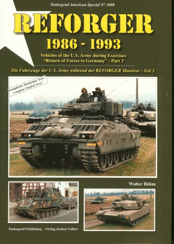 Image for REFORGER 1986-1993: VEHICLES OF THE US ARMY DURING EXERCISES 'RETURN OF FORCES TO GERMANY' - PART 3