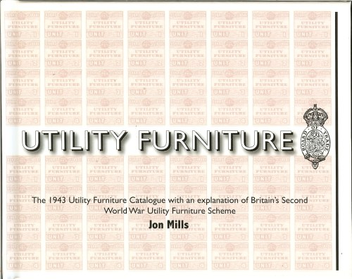 Image for UTILITY FURNITURE OF THE SECOND WORLD WAR