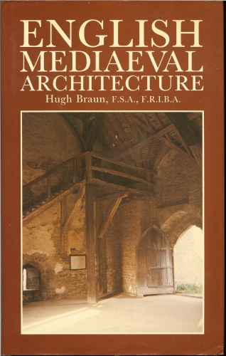 Image for ENGLISH MEDIAEVAL ARCHITECTURE