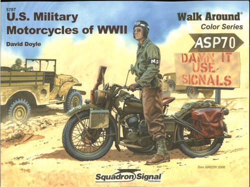 Image for US MILITARY MOTORCYCLES OF WWII WALK AROUND