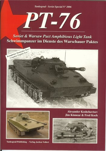 Image for PT-76: SOVIET & WARSAW PACT AMPHIBIOUS LIGHT TANK