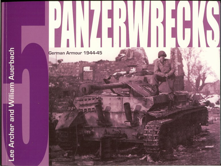 Image for PANZERWRECKS 5: GERMAN ARMOUR 1944-45