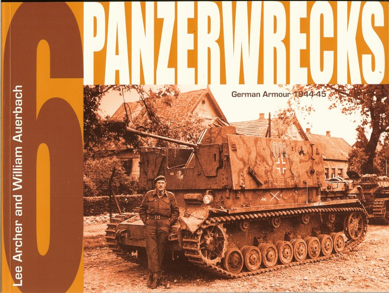 Image for PANZERWRECKS 6: GERMAN ARMOUR 1944-45