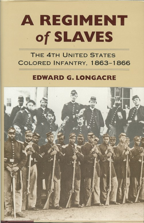 Image for A REGIMENT OF SLAVES : THE 4TH UNITED STATES COLORED INFANTRY, 1863-1866
