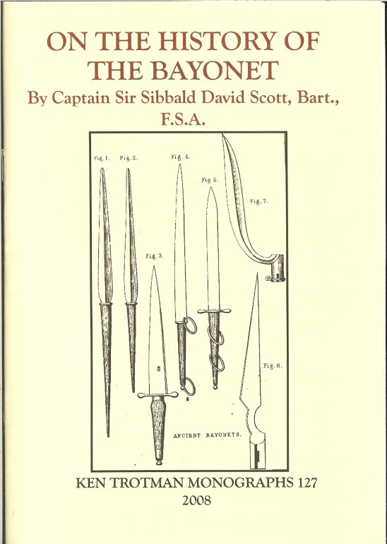 Image for ON THE HISTORY OF THE BAYONET (1868)