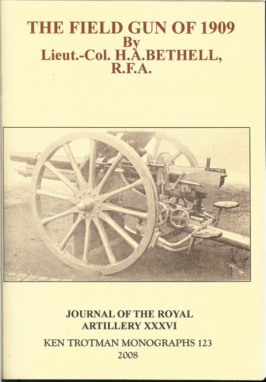 Image for THE FIELD GUN OF 1909