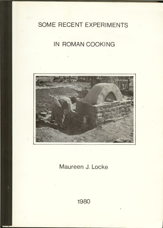 Image for SOME RECENT EXPERIMENTS IN ROMAN COOKERY