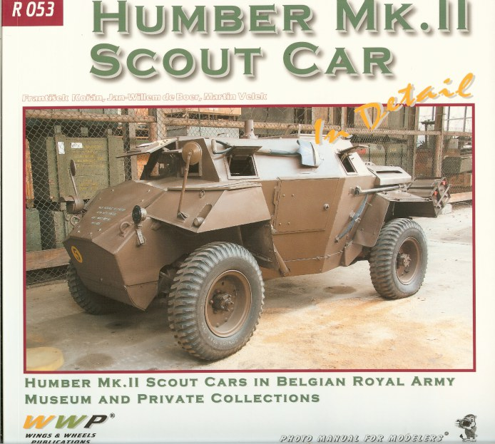 Image for HUMBER MK.II SCOUT CAR IN DETAIL
