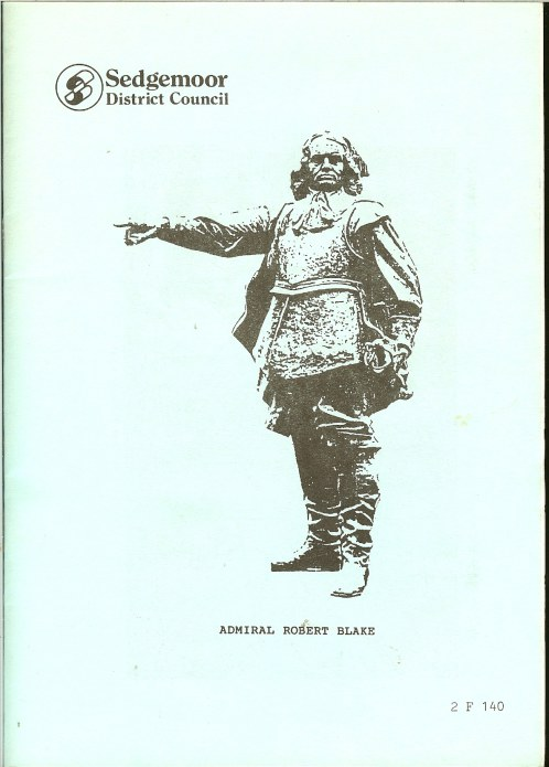 Image for ADMIRAL ROBERT BLAKE 1599-1657