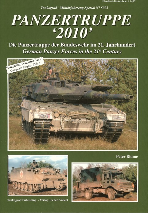 Image for PANZERTRUPPE '2010': GERMAN PANZER FORCES IN THE 21ST CENTURY