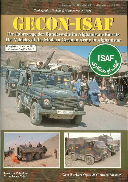 Image for GECON-ISAF: THE VEHICLES OF THE MODERN GERMAN ARMY IN AFGHANISTAN