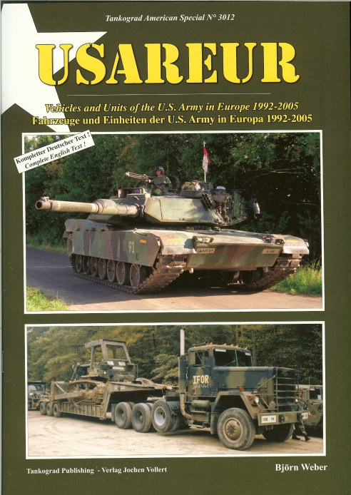Image for USAREUR: VEHICLES AND UNITS OF THE US ARMY IN EUROPE 1992-2005