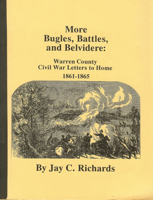 Image for MORE BUGLES, BATTLES, AND BELVIDERE: WARREN COUNTY CIVIL WAR LETTERS HOME 1861-1865