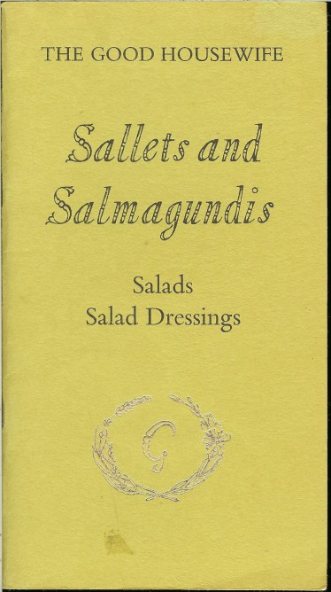 Image for SALLETS AND SALMAGUNDIS: SALADS AND SALAD DRESSINGS