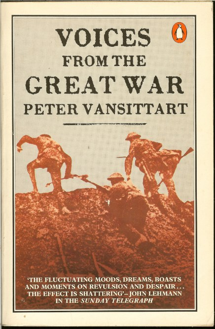 Image for VOICES FROM THE GREAT WAR