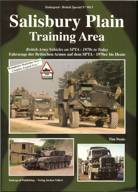 Image for SALISBURY PLAIN TRAINING AREA : BRITISH ARMY VEHICLES ON SPTA - 1970S TO TODAY