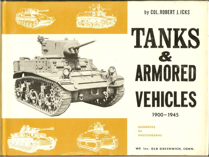 Image for TANKS AND ARMOURED VEHICLES 1900-1945
