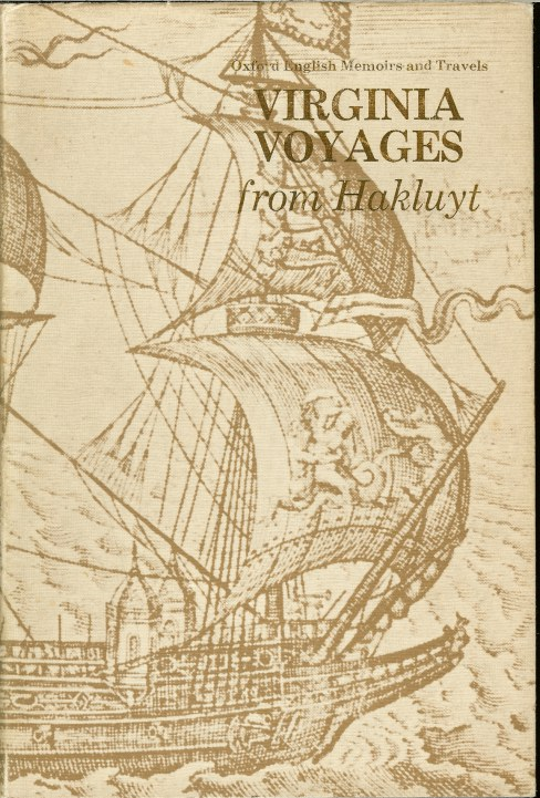 Image for VIRGINIA VOYAGES FROM HAKLUYT