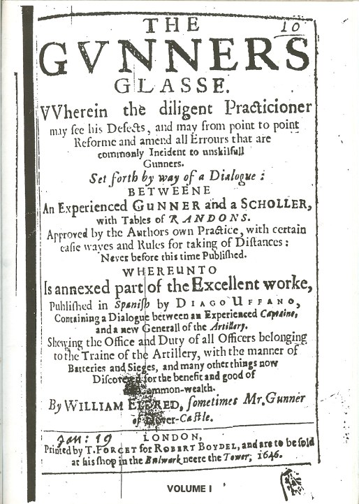 Image for THE GUNNERS GLASSE (1646)
