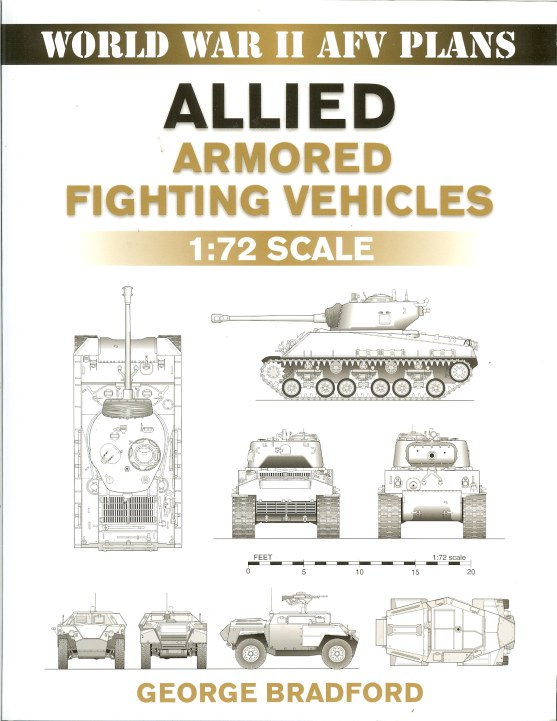 Image for WORLD WAR II AFV PLANS: ALLIED ARMORED FIGHTING VEHICLES 1: 72 SCALE