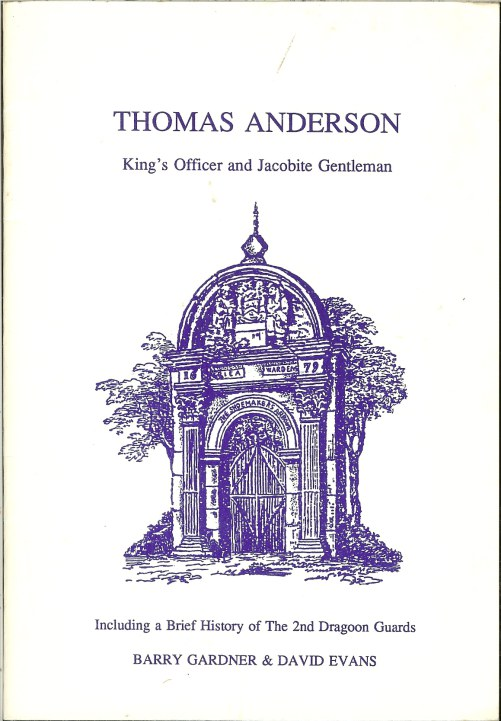 Image for THOMAS ANDERSON: KING'S OFFICER AND JACOBITE GENTLEMAN (1720-1752)