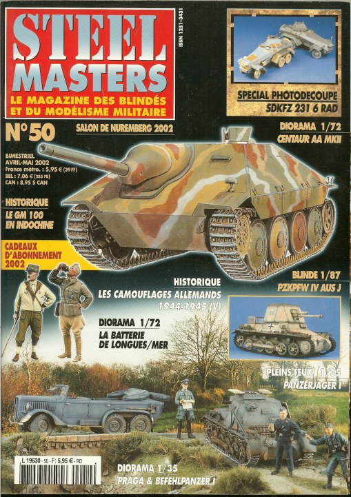 Image for STEEL MASTERS NO.50