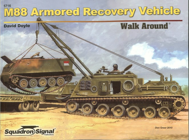Image for M88 ARMORED RECOVERY VEHICLE WALK AROUND