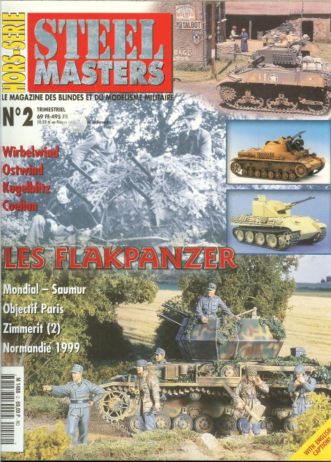 Image for STEEL MASTERS HORS-SERIE NO.2: LES FLAKPANZER