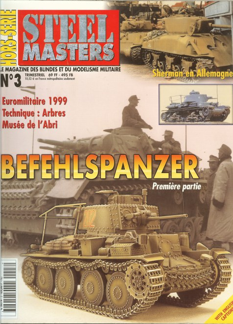 Image for STEEL MASTERS HORS-SERIE NO.3: BEFEHLSPANZER