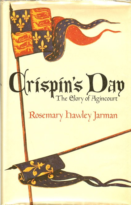 Image for CRISPIN'S DAY: THE GLORY OF AGINCOURT