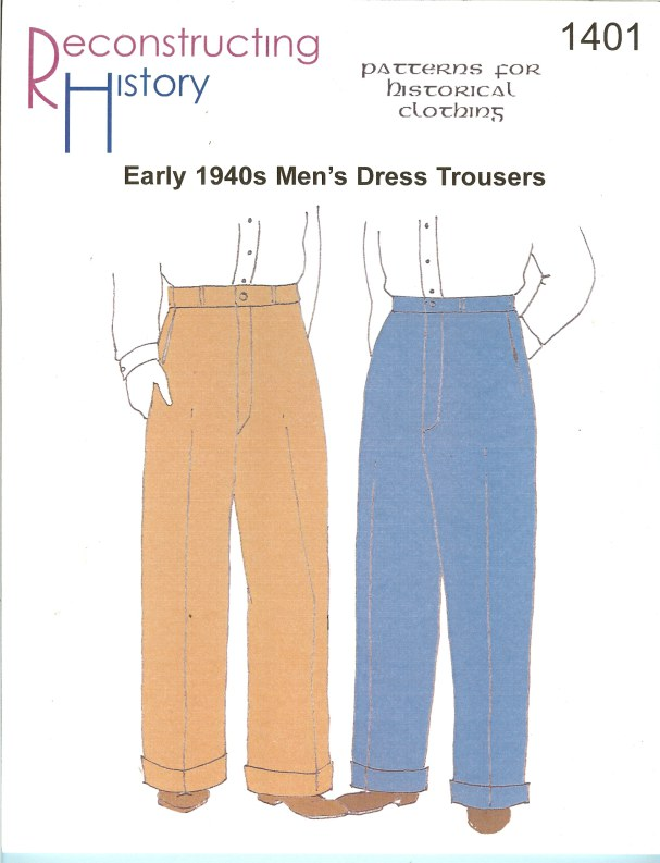 Image for RH1401: EARLY 1940S MEN'S DRESS TROUSERS