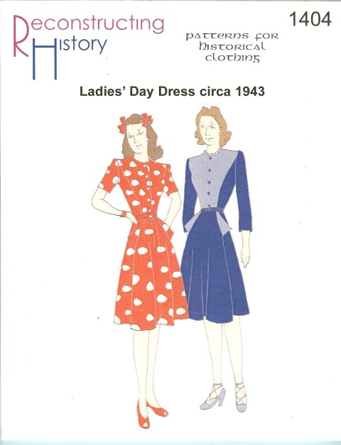 Image for RH1404: LADIES' DAY DRESS CIRCA 1943