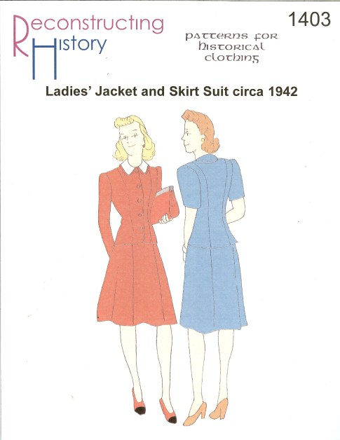 Image for RH1403: LADIES' JACKET AND SKIRT SUIT CIRCA 1942
