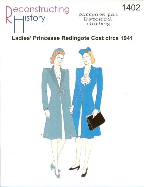 Image for RH1402: LADIES' PRINCESSE REDIGOTE COAT CIRCA 1941