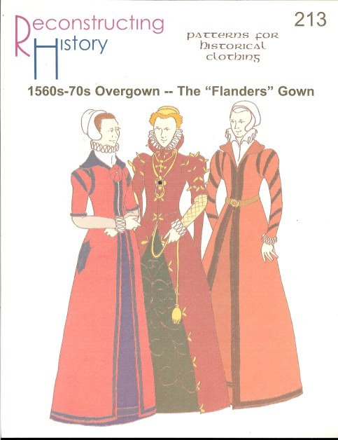 Image for RH213: 1560S-70S OVERGOWN - THE 'FLANDERS' GOWN
