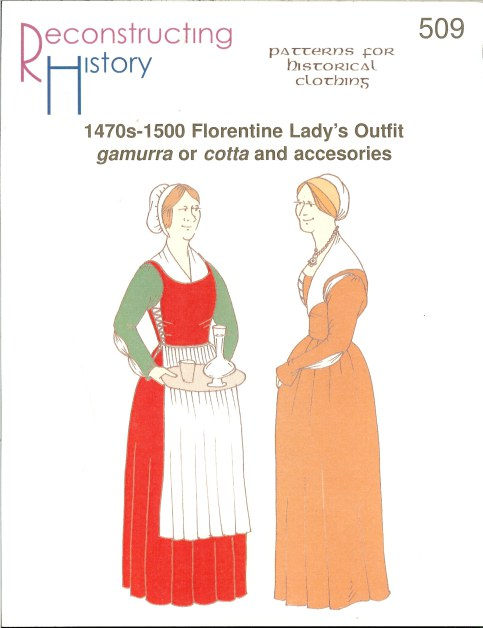 Image for RH509: 1470S-1500 FLORENTINE LADY'S OUTFIT GAMURRA OR COTTA AND ACCESORIES