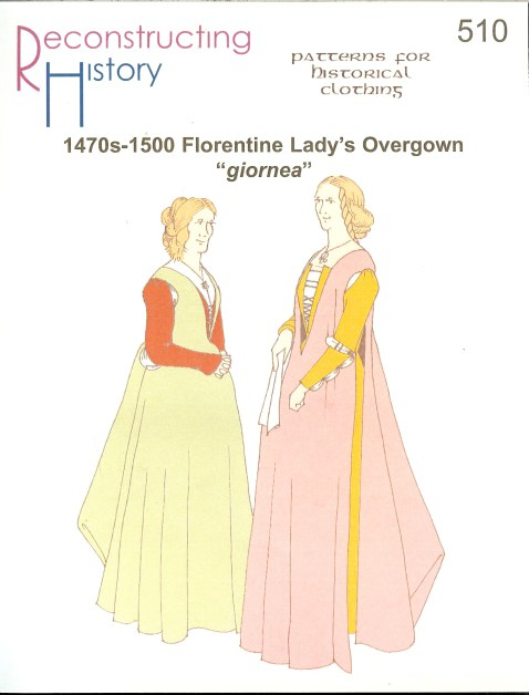 Image for RH510: 1470S-1500 FLORENTINE LADY'S OVERGOWN GIORNEA
