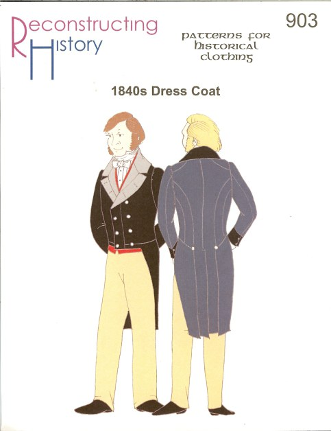 Image for RH903: MEN'S 1840S DRESS COAT