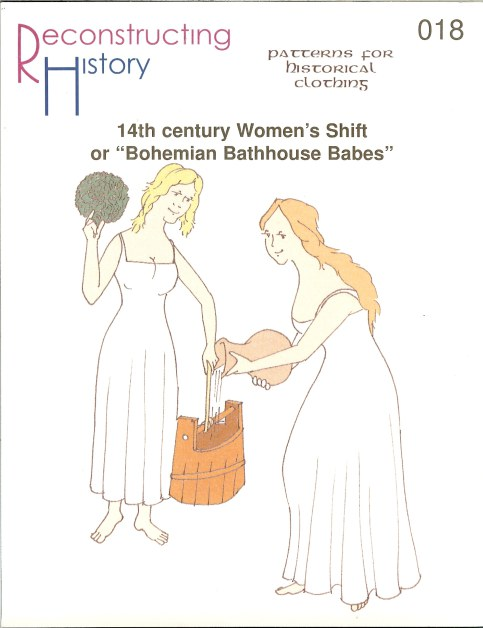 Image for RH018: 14TH CENTURY WOMAN'S SHIFT OR 'BOHEMIAN BATHHOUSE BABES'